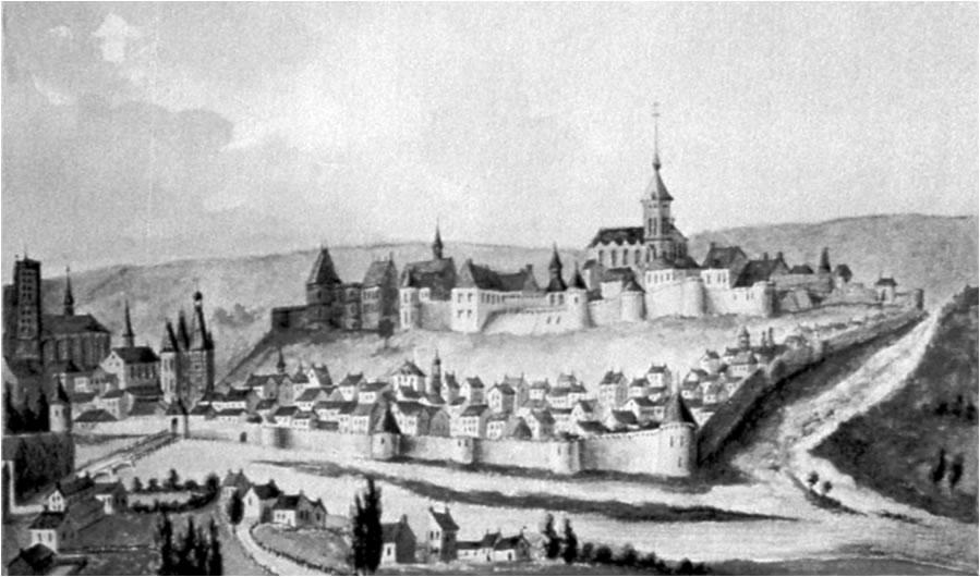 Jean de la fontaine ch teau thierry sa ville natale for Piscine chateau thierry