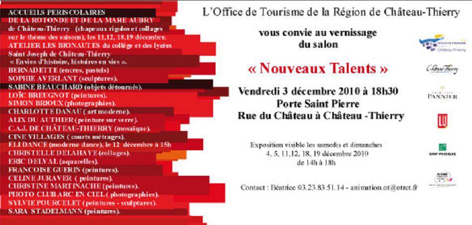 Nouveaux talents - Office du tourisme chateau thierry ...